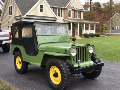 1946 Jeep Willys CJ2A Garage for sale