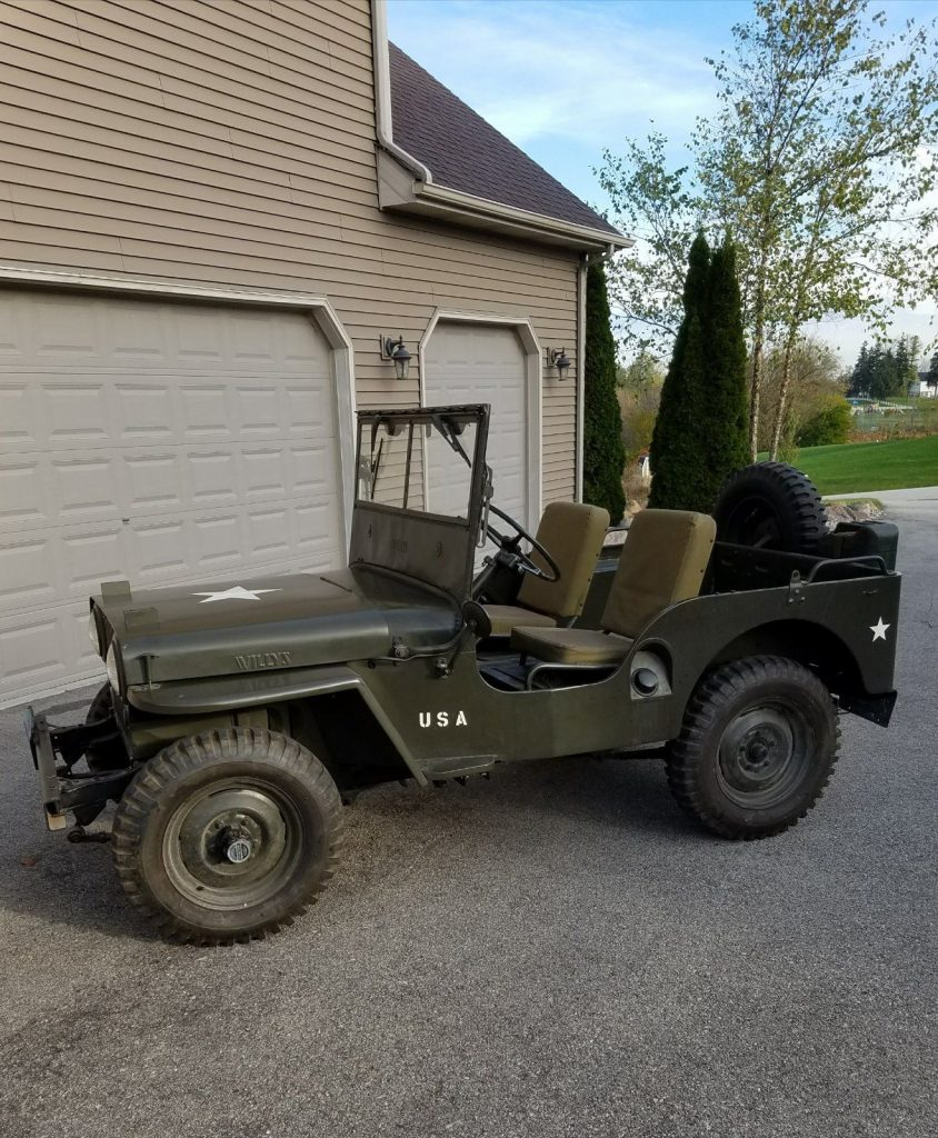 1946 Willys CJ2A for sale