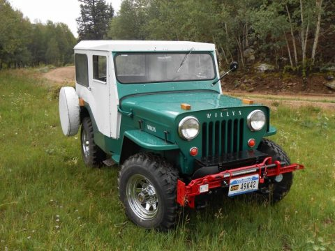 1954 Jeep CJ Willys CJ 3B, excellent condition for sale