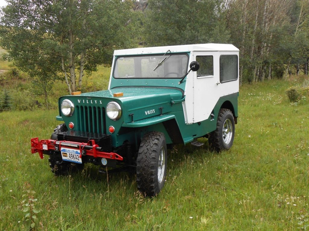 1954 Jeep CJ Willys CJ 3B, excellent condition