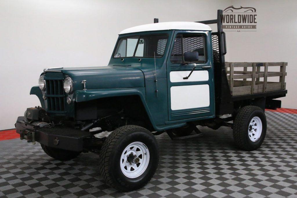 1954 Jeep Willys Restored V8 AUTO 4X4 PS PB