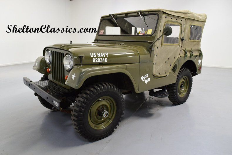 1960 Willys CJ5 Jeep