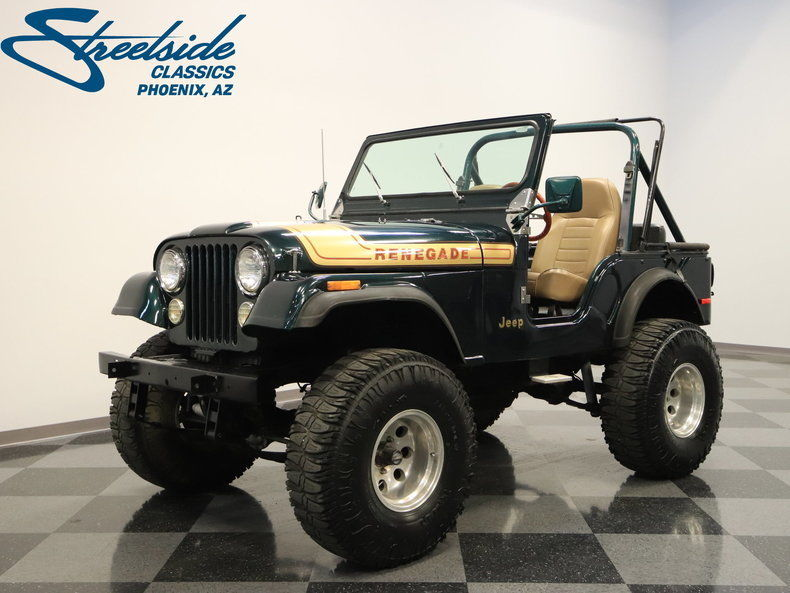 1976 Jeep CJ Renegade for sale