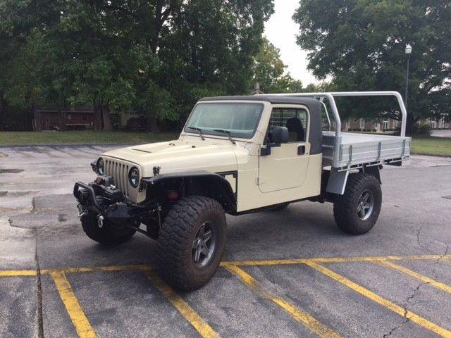 1997 Jeep Wrangler Truck Conversion for sale