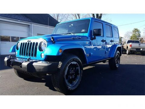 2014 Jeep Wrangler Sahara for sale