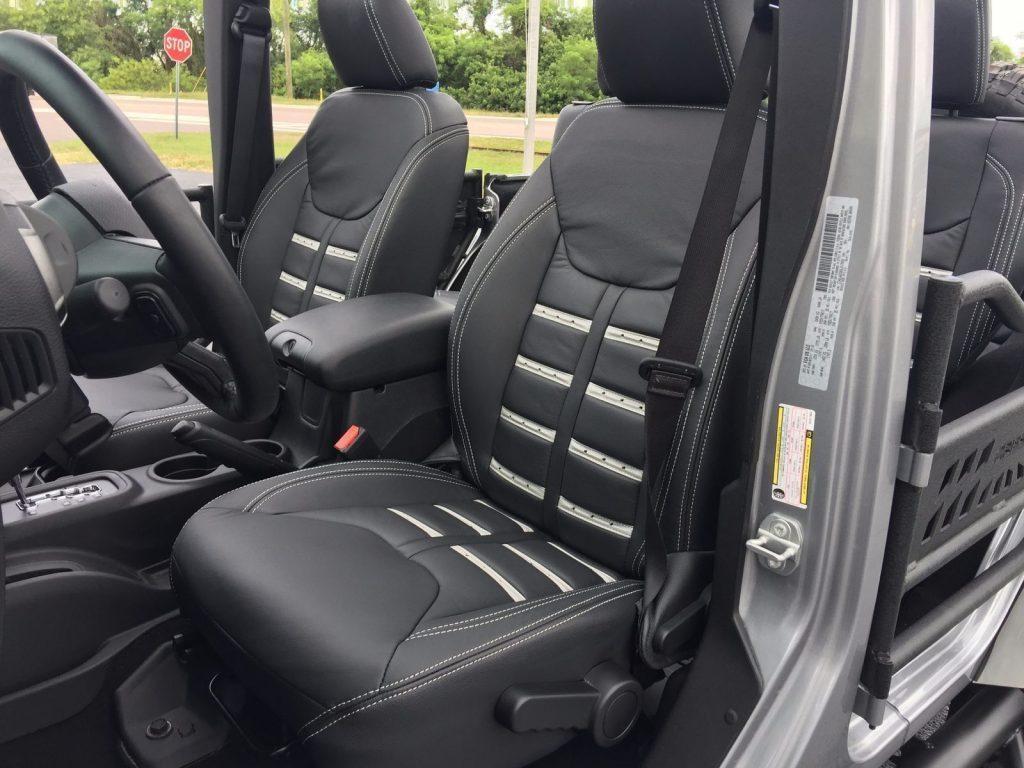 2017 Jeep Wrangler Custom Billet Lifted Leather HARDTOP