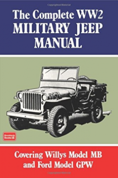 Complete WW2 Military Jeep Manual BOOK NEW for sale