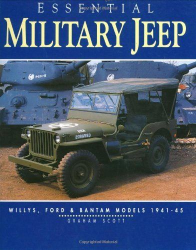 Military JEEP Willys FORD Bantam 1942 1945 By Scott Graham **brand NEW**