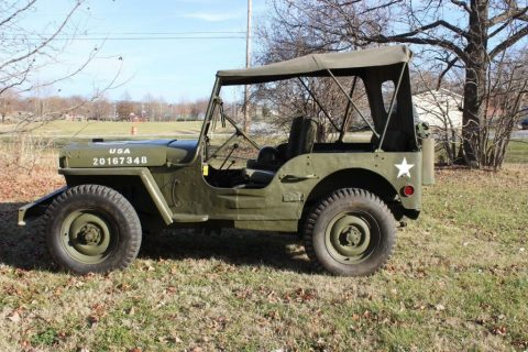 1942 Ford GPW Willys Military Jeep for sale