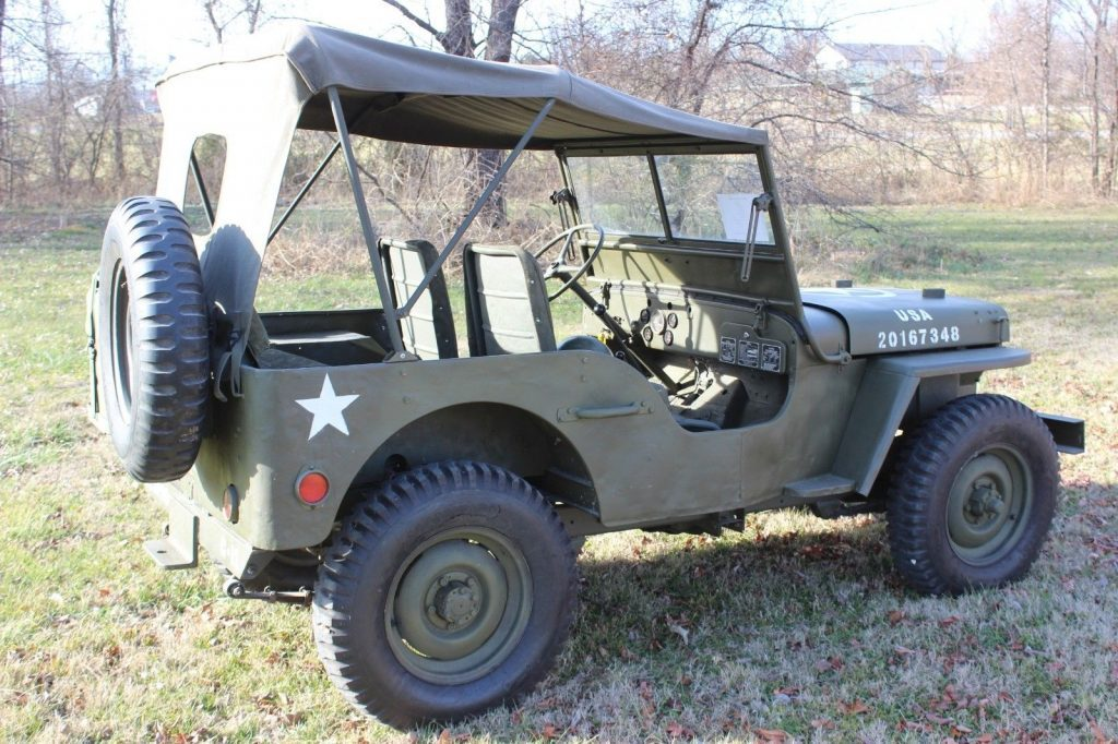 1942 Ford GPW Willys Military Jeep