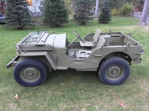 Military Jeep For Sale >> 1952 Willys Jeep Cj3a For Sale