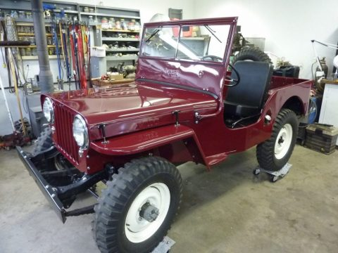 1948 Willys CJ2A Completely Restored for sale