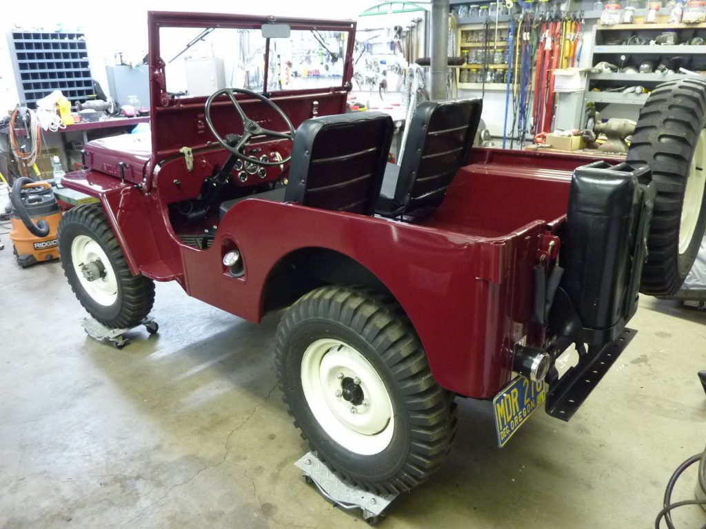 1948 Willys CJ2A Completely Restored