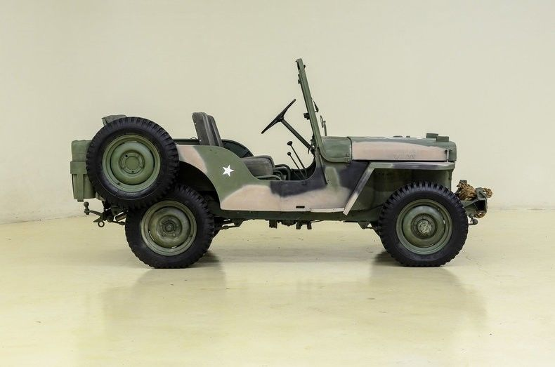 1951 Willys Jeep M 38 Military