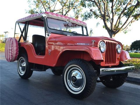 1966 Jeep CJ 5A 4X4 for sale