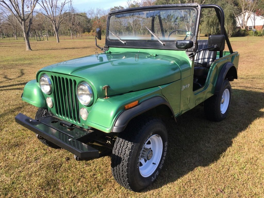 1974 Jeep CJ 1974 Original Documented