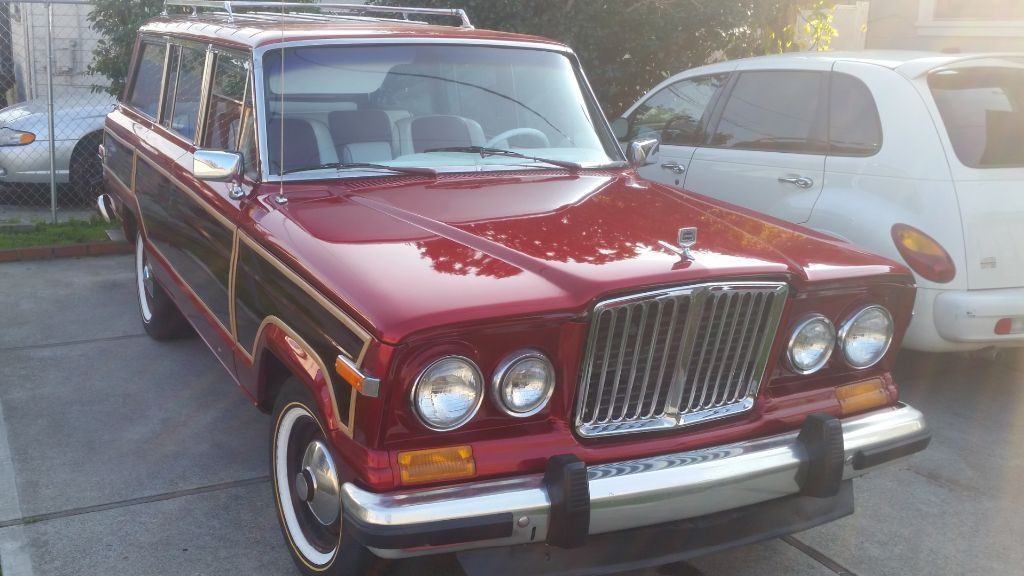 1987 jeep grand wagoneer custom for sale. Black Bedroom Furniture Sets. Home Design Ideas
