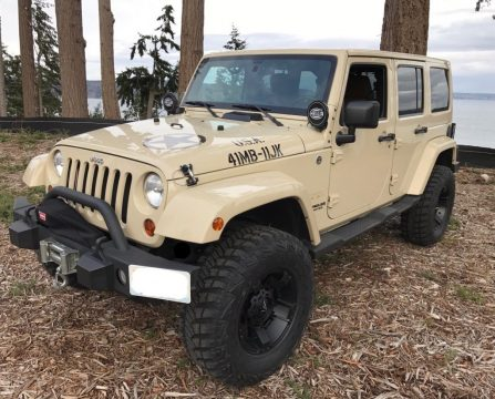 2011 Jeep Wrangler Sahara 70th Anniversary Edition for sale