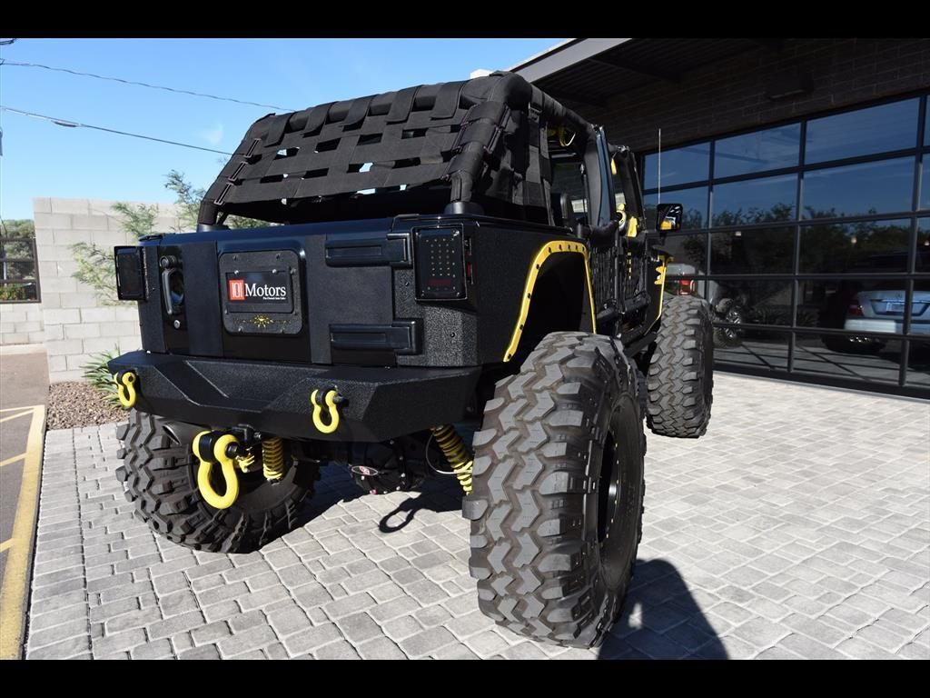 2012 Jeep Wrangler Unlimited Custom Build