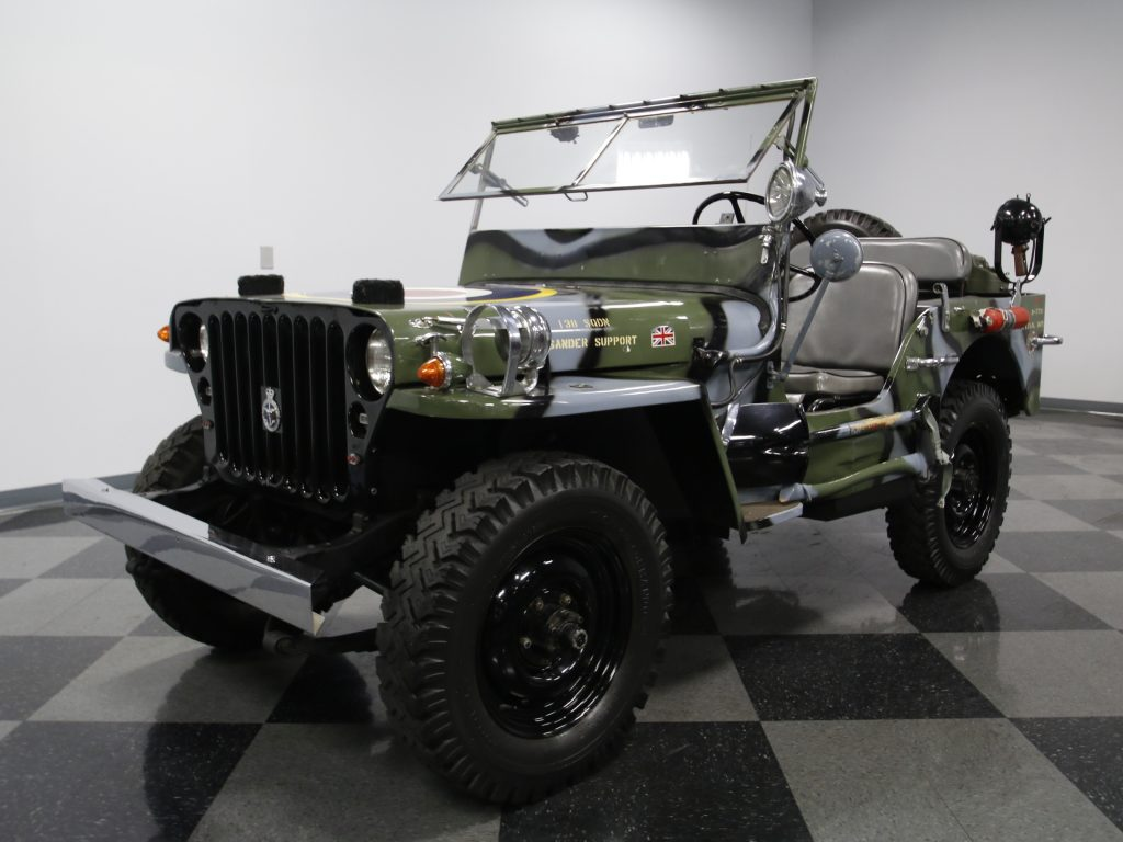 Jeep RAF 1945 Willys MB Military