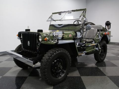 Jeep RAF 1945 Willys MB Military for sale