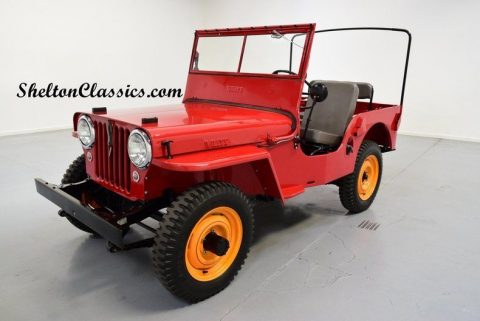 1946 Willys CJ2A Jeep 4×4 for sale