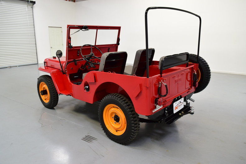 1946 Willys CJ2A Jeep 4×4