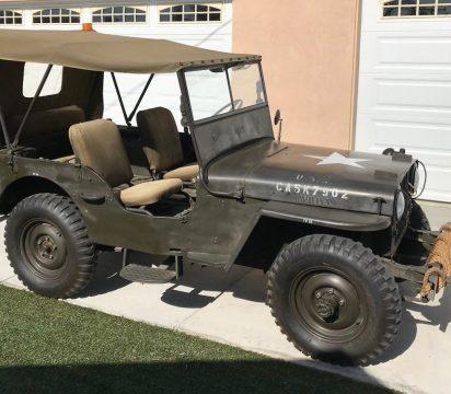 1946 Willys CJ2A Jeep 4×4 for sale