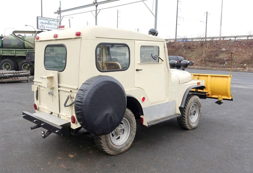 1960 Jeep CJ Plow Runs & Operates with Clear for sale