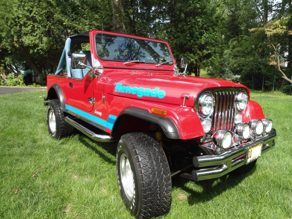 1977 Jeep CJ Levis Edition for sale