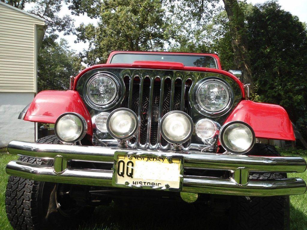 1977 Jeep CJ Levis Edition