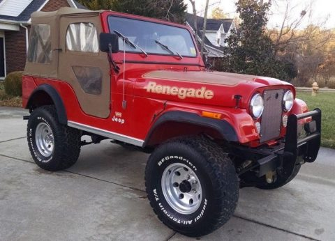1977 Jeep Renegade RENEGADE for sale