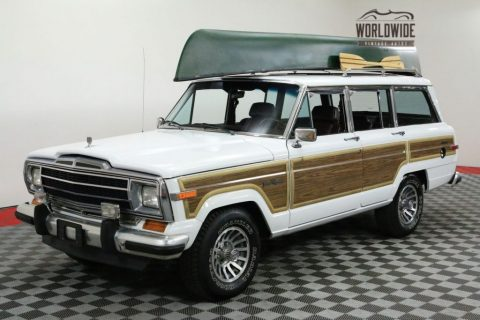 1991 Jeep Wagoneer Rare. 70K ORIG Miles. 4X4. TIME CAPSULE for sale