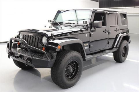 2012 Jeep Wrangler Unlimited Sahara Sport Utility 4 Door for sale