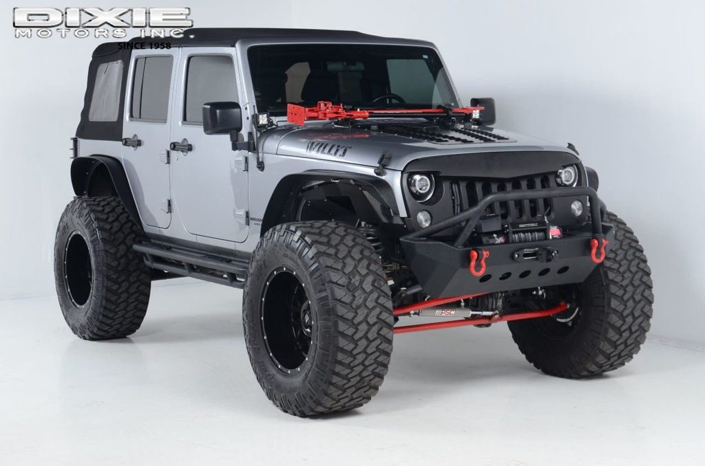 2015 Jeep Wrangler JEEP JK Unlimited ROCK Crawler Rubicon GEAR SUPERC
