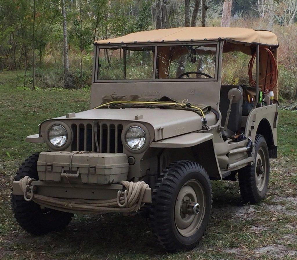1945 Jeep Willys CJ2A