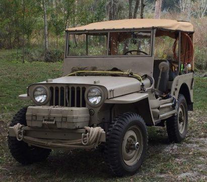 1945 Jeep Willys CJ2A for sale