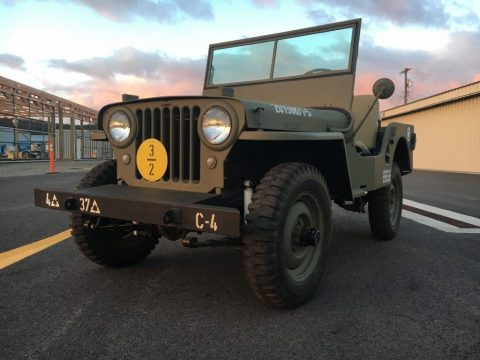 1948 CJ2A Jeep Willys for sale