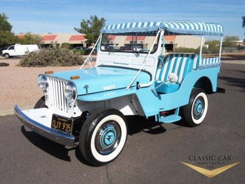 1960 Willys Jeep Surrey Gala for sale