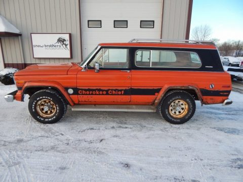 1979 Jeep Cherokee Chief for sale