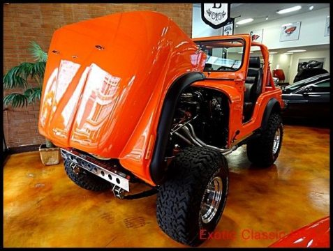1979 Jeep CJ Chevy V8 for sale