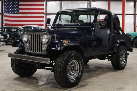 1984 Jeep CJ   Scrambler for sale
