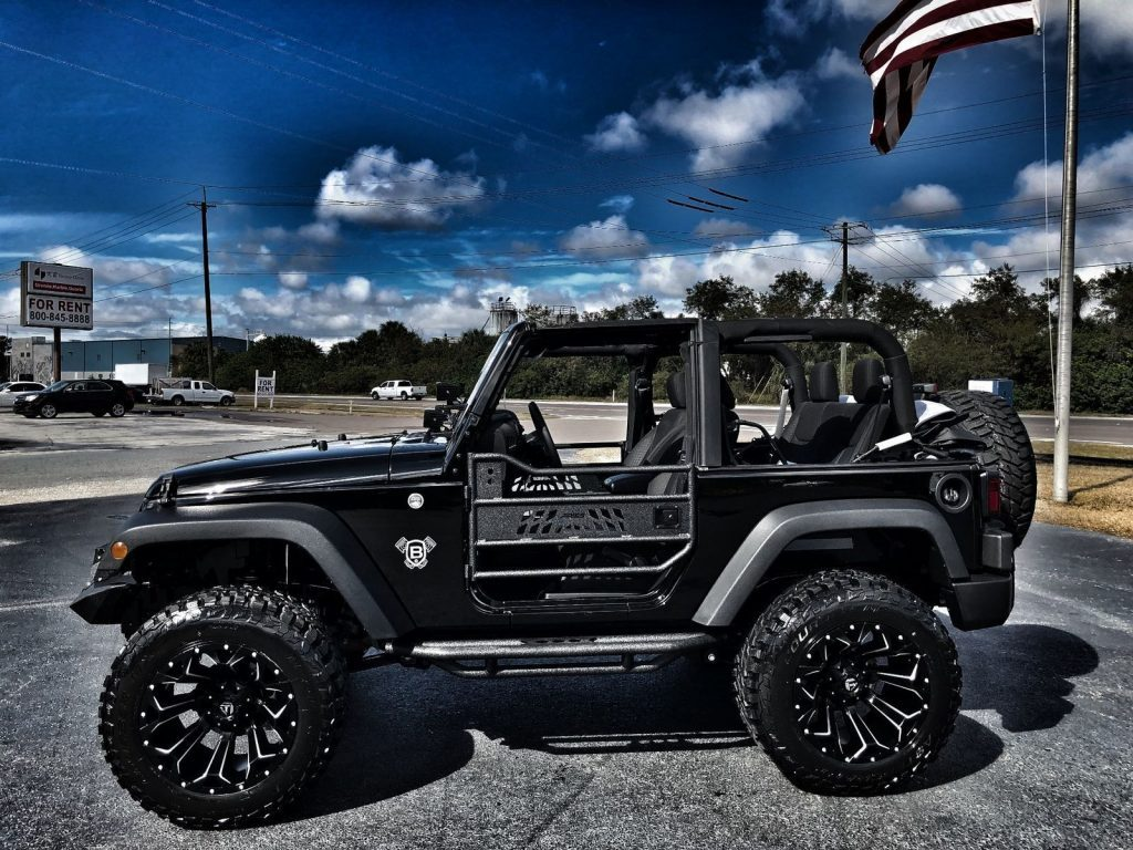 2017 Jeep Wrangler Custom Lifted Blacked OUT SPORT
