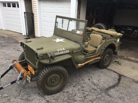 1944 Jeep Willys Ford GPW for sale