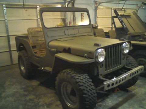 1950 Jeep Willys 439 for sale