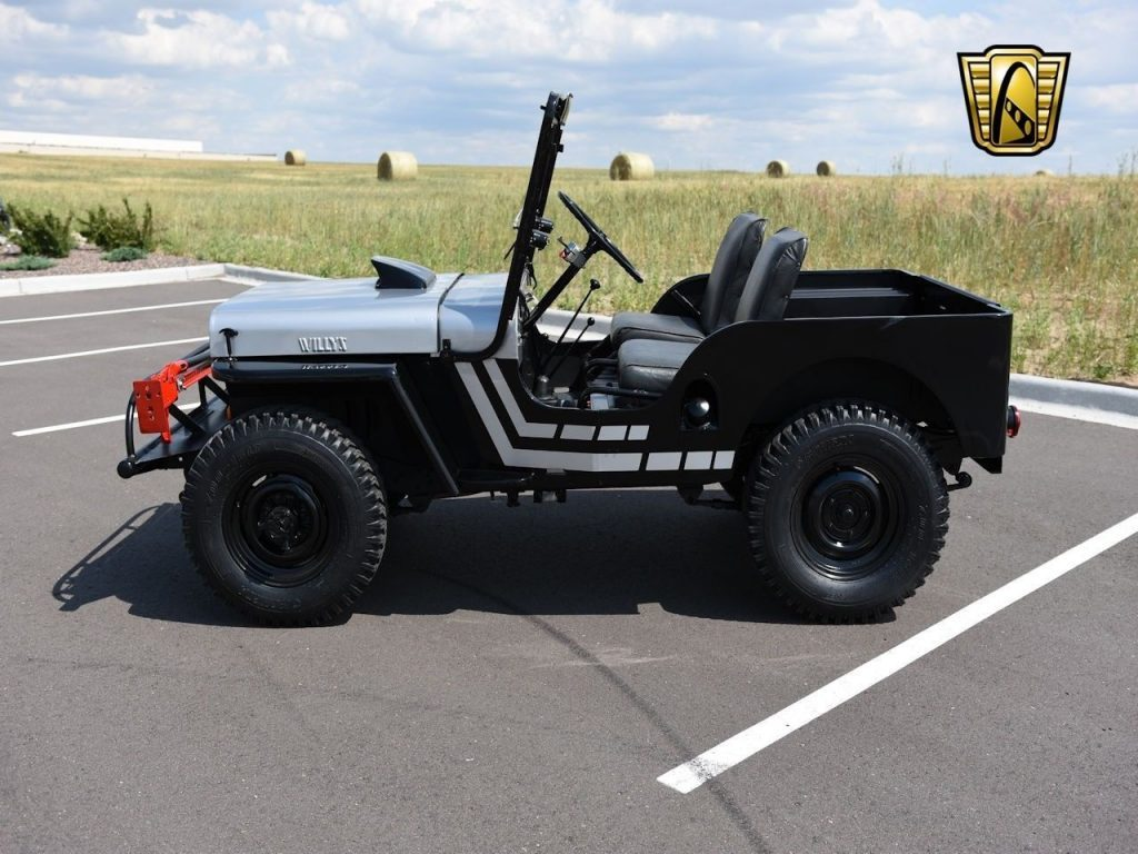 1950 Willys Jeep CJ3A