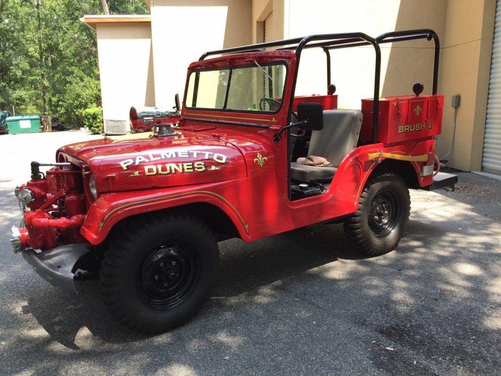 1952 Jeep CJ  Fire pumper for sale