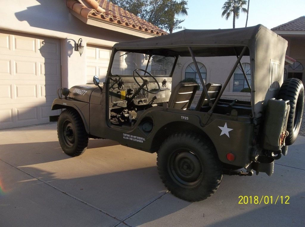 1952 Willys M38a1 Military Jeep