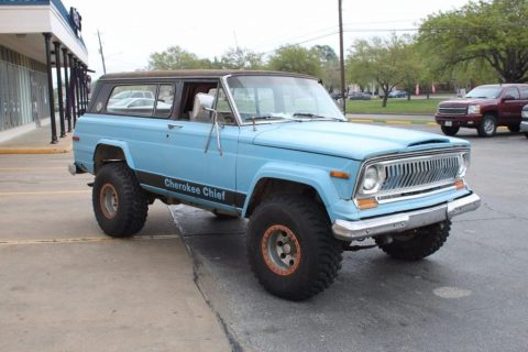 1975 Jeep Cherokee Chief for sale