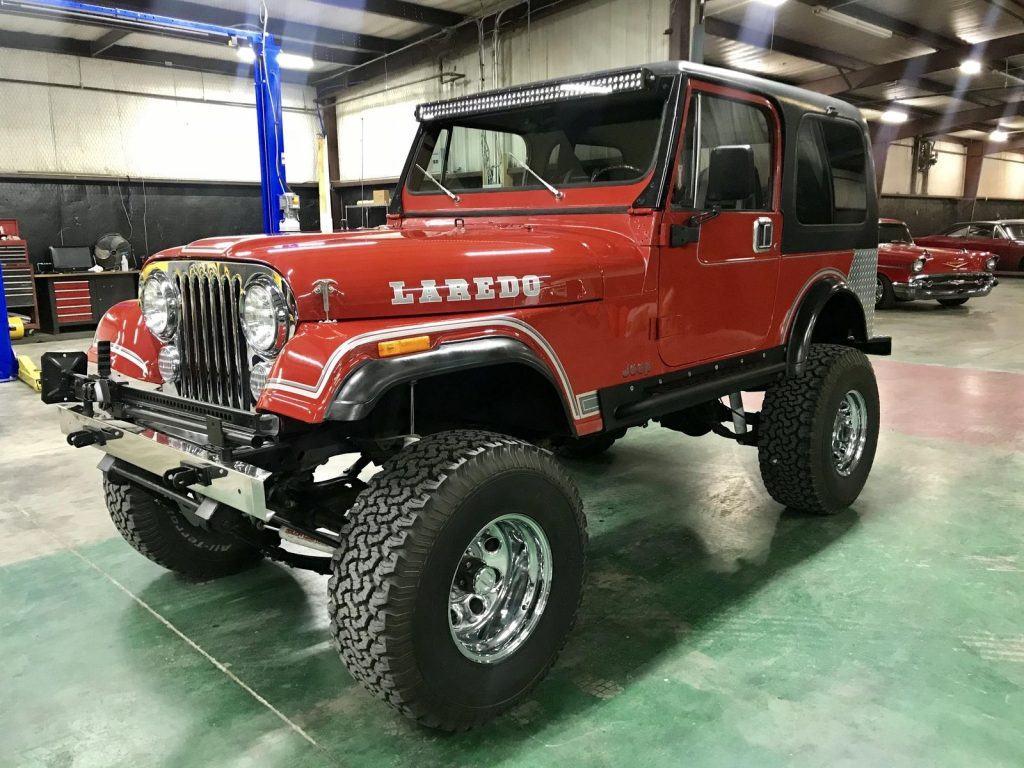 1984 Jeep CJ Laredo 4WD for sale
